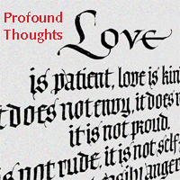 Home Profound Thoughts