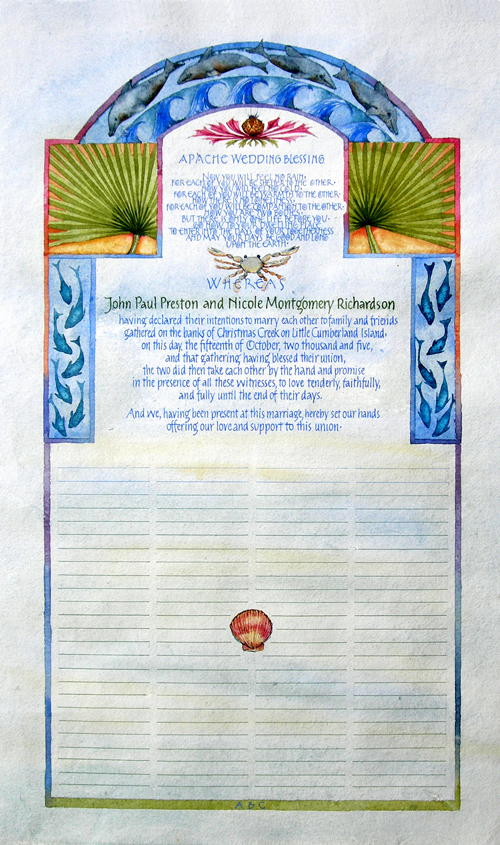 Resolutions Nikkis Marriage Certificate