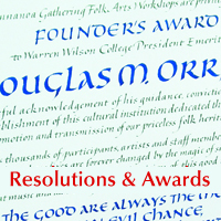Home Resolutions & Awards