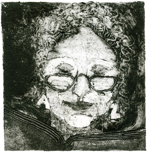 Printmaking Self Portrait